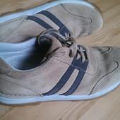 Крепкие туфли Clarks 28см Натурал Оригинал