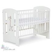 Кроватка детская Klups Zyrafka Белая