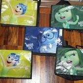 """сумочки с героями мультфильма """"Головоломка"""" Disney Pixar"""