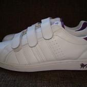 Кроссовки кожаные ,белые,Lonsdale London original !