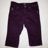 Вельветовые штаны H&M для девочки 1 год, рост 80 см