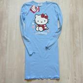Новая ночная рубашка для девочки или мамы. Hello Kitty. Размер 11-12 лет или на S-M