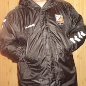 Фірмова оригінал деми  зима-осінь спортивна курточка курточка Hummel.хл-2хл .