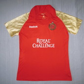 Reebok Royal Challengers Bangalore (XL) спортивная тенниска поло мужская