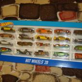Hot Wheels 20 Car gift pack (styles may vary) - подарочный набор из 20 машинок.