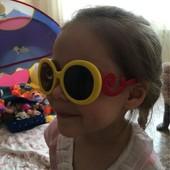 детские солнцезащитные очки новые