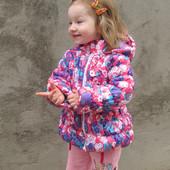 Курточка на девочку демисезон 86,92,98.