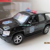 Машинки металл полициия Chevrolet '08 Tahoe 1:34 (11 см)