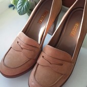 Туфли кожаные Ecco, р.39, 40