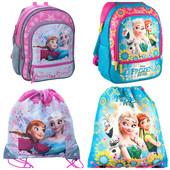 Школьный рюкзак набор Холодное Сердце Анна и Ельза