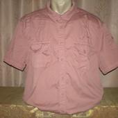 Рубашка с коротким рукавом 54-56 размера