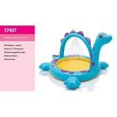 надувной бассейн  Дино Intex 57437