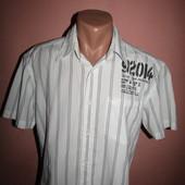 рубашка мужская р-р М-Л коттон.s/Oliwer