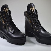 НОВинка ! женские кожаные ботинки 3 модели