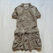 Стильное платьице для девочки. Next. Размер 4 года. Состояние: отличное