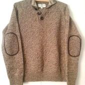 Купить свитер мужской с латками Next Размер S