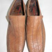 Мужские кожаные туфли  O base London р.40 дл.ст 27см