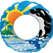 Надувной круг для купания «Дельфин» Intex 58245