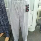 Летние брюки из льна от ХЛ до 7ХЛ