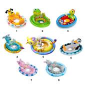 """Надувной детский круг с ножками """"Животные"""" Intex 59570 в ассортименте (до 23 кг)"""