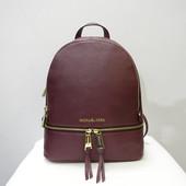 Кожаный рюкзак Michael Kors merlot оригинал