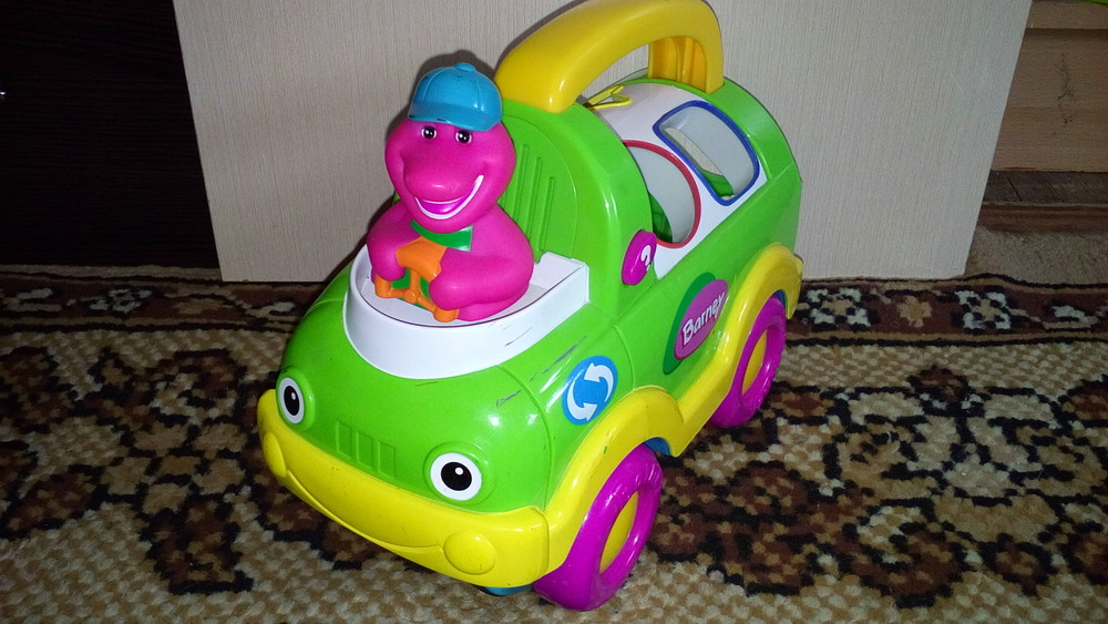 Машинка barney фото №1