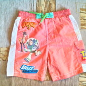 легкие или пляжные шорты  для мальчика рост 116, на 5-6 лет.