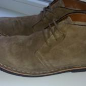 Стильные замшевые ботинки Burton(Индия),43 размер.