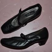 37-38 стелька - 25,5 см. Туфли Paul Green Австрия фирменные оригинал