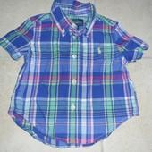 рубашечка Ralph Lauren размер 9мес