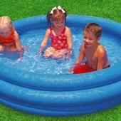 Детский надувной бассейн Хрустальный Intex 59416 новый