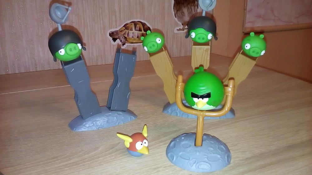 Настольная игра angry birds фото №1