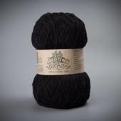 Пряжа Этно-Коттон 1200 (Ethno-Cotton 1200),чёрный артикул 013