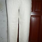 Льняные брюки zara размер SM