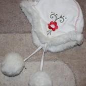 Зимняя шапка H&M девочке на 1 год
