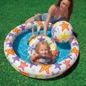 """Надувной бассейн с кругом и мячом """"Intex 59460"""""""