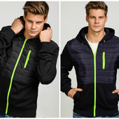 Мужская спортивная куртка ветровка на весну -лето- осень
