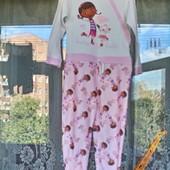 Ромпер, пижама  George  для девочки (флис и хлопок) на 4-5 лет ( 104 -110)