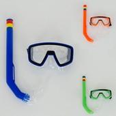 Набор для плавания маска с трубкой