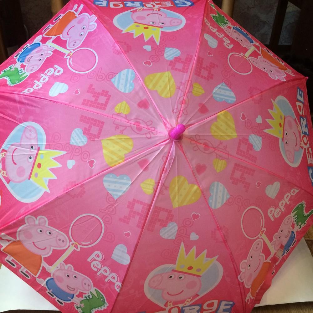 Зонтик детский свинка пеппа фото №1