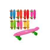 Скейт Пенни борд (Penny board)   6 цветов,  колеса PU, d - 6 см.