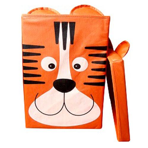 Ящик тигр 25*25*38 с крышкой фото №1