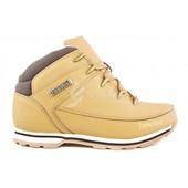 Ботинки кожаные Timberland мужские Тимберленд Yellow Winter Edition на меху