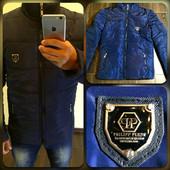 Мужская куртка из плащевки