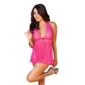 6-23 Женский пеньюар ночная рубашка/ Сексуальное белье/ Эротическое белье