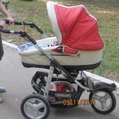 Продам наша коляску трансформер Bebecar Racer 2 в 1