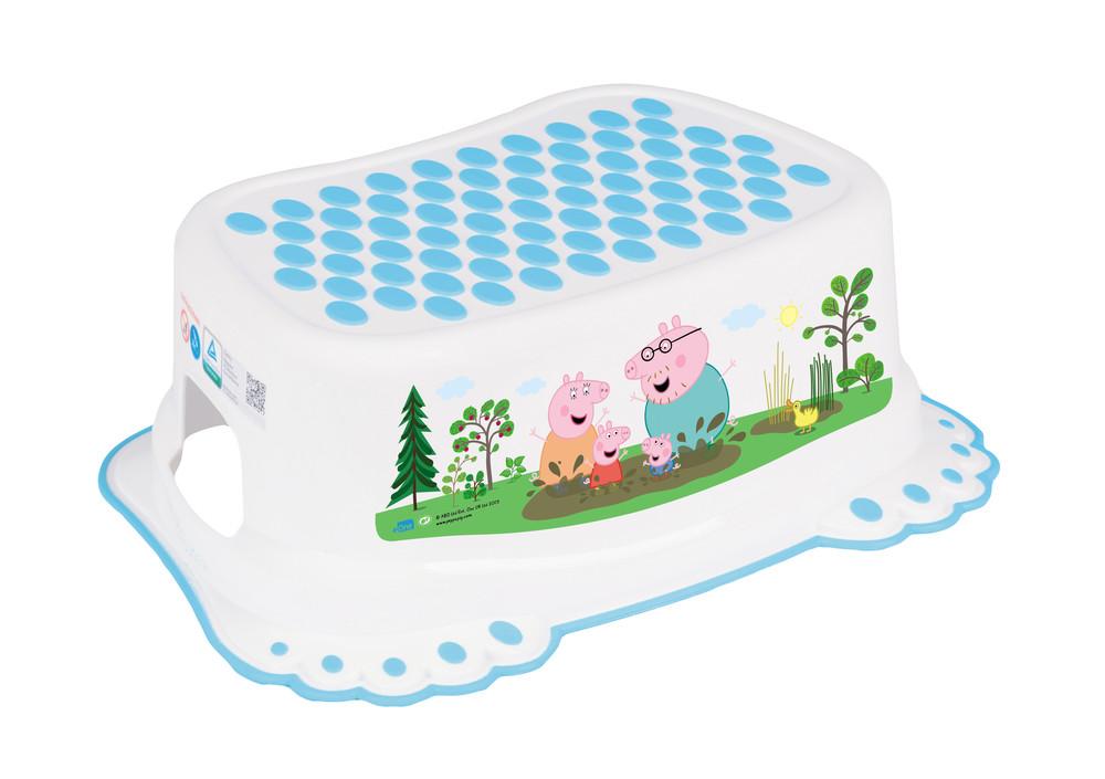 Подставка -ступенька для детей tega peppa pig pp-006 нескользящая 103-n фото №1