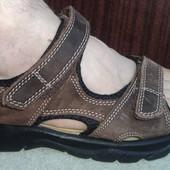 Фірмові оригінал шкіряні  брендові сандалі босоножки Maine.43.