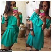 Яркие летние платья 6 цветов