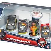 Disney/Pixar Cars Carbon набор из 4 машинок - 2016 года